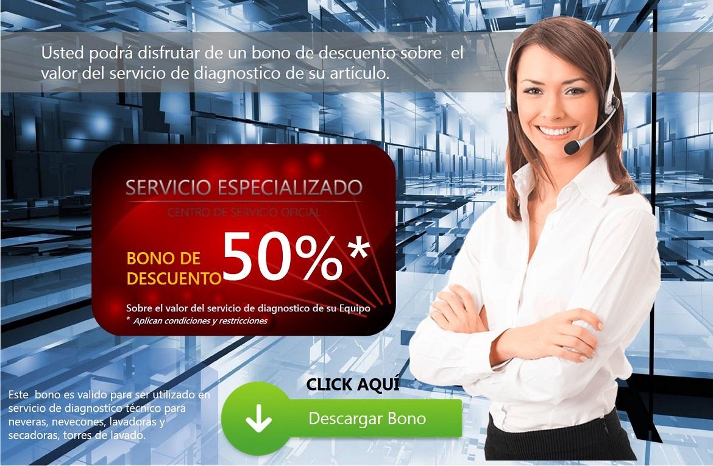 Presentacion del bono en el sitio web